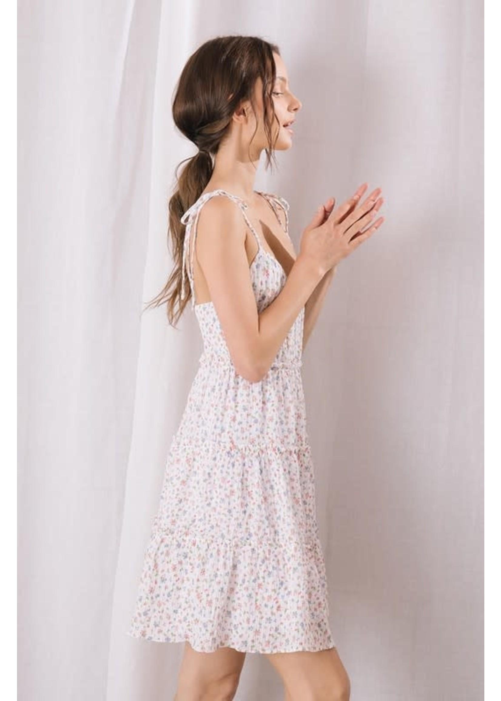 Storia Floral Fruity Mini Dress - JD3294
