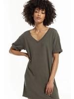 Z Supply V-Neck T-Shirt Dress - ZD202359