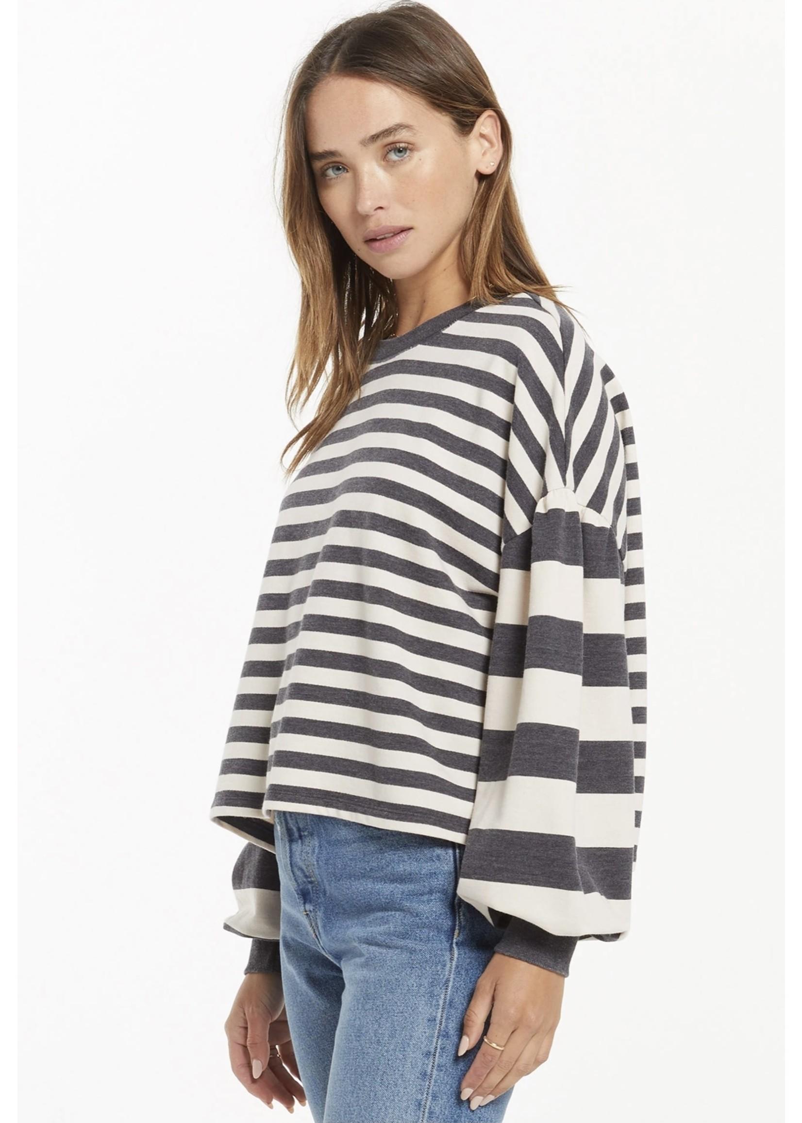 Z Supply Tempest Striped Sweatshirt - ZT213122