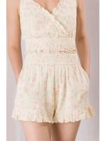 Storia Rose Print Shorts - BP2161