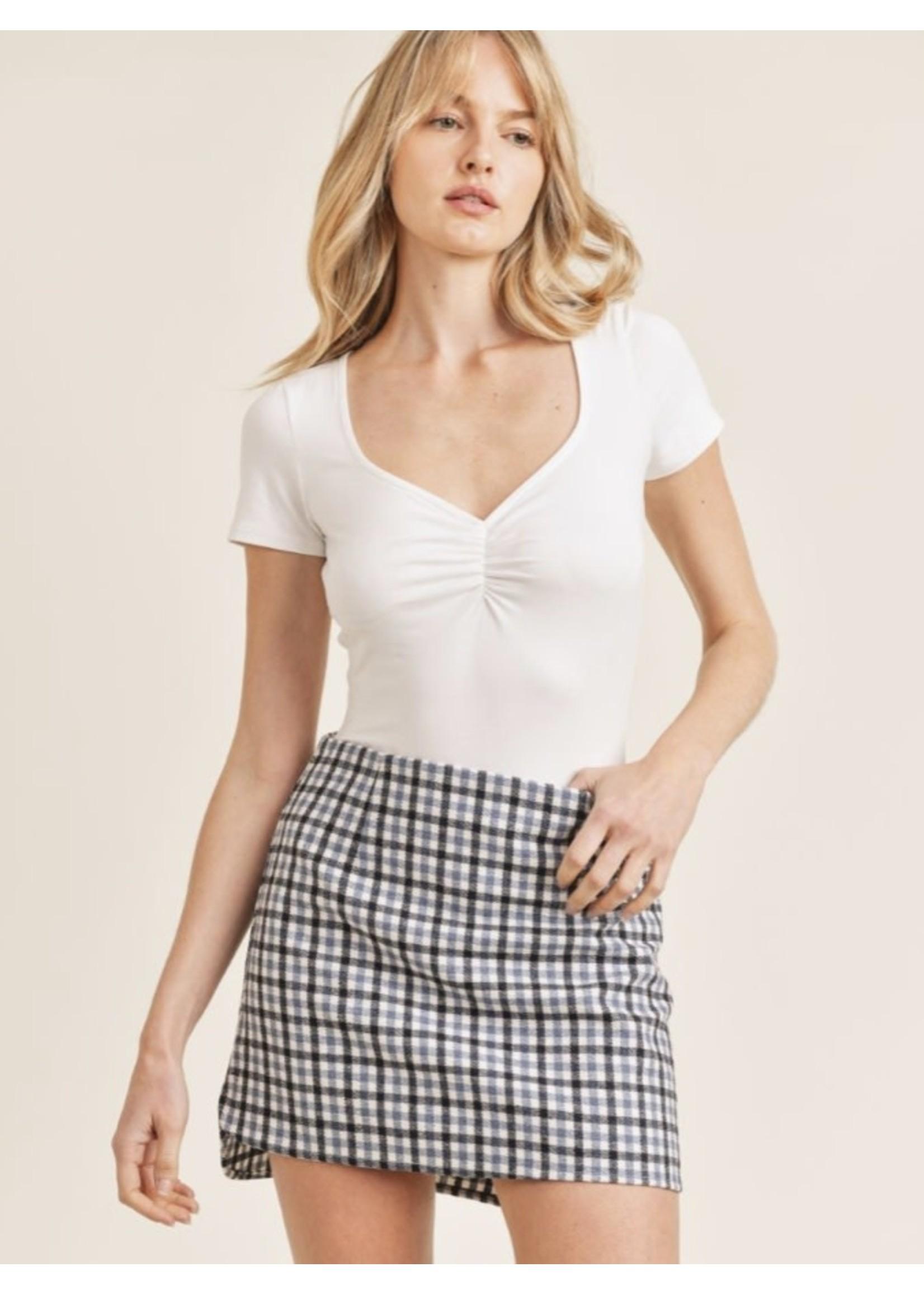 Sadie & Sage Tea Table Mini Skirt - AC361297