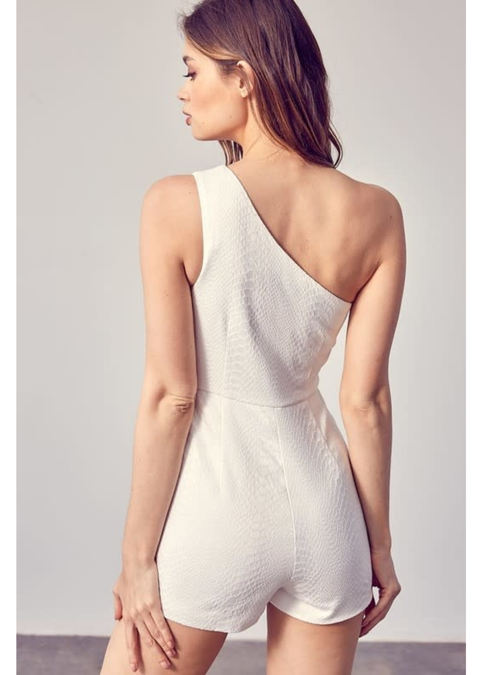 DO + BE One Shouldered Romper - GY0294