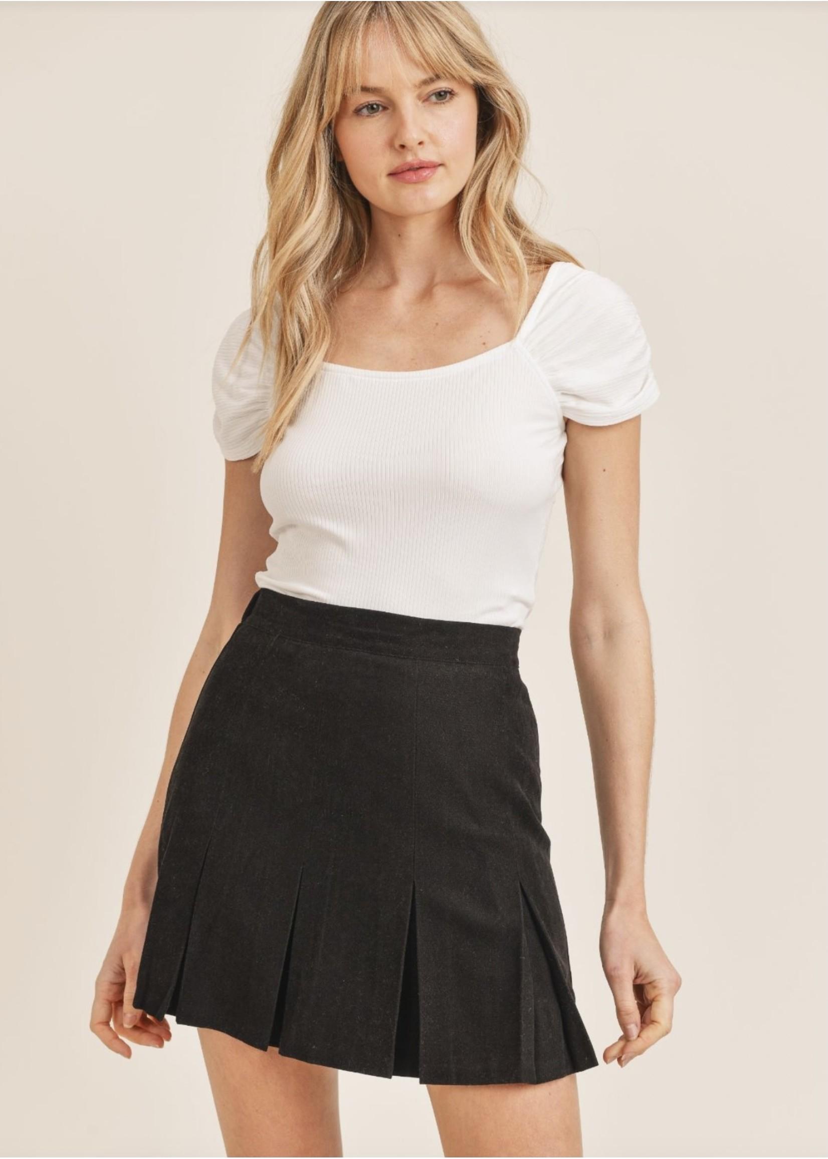 Sadie & Sage Secret Splendor Pleated Skirt - AC361448