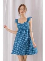 Storia Polka Dot Babydoll Dress - BD2139