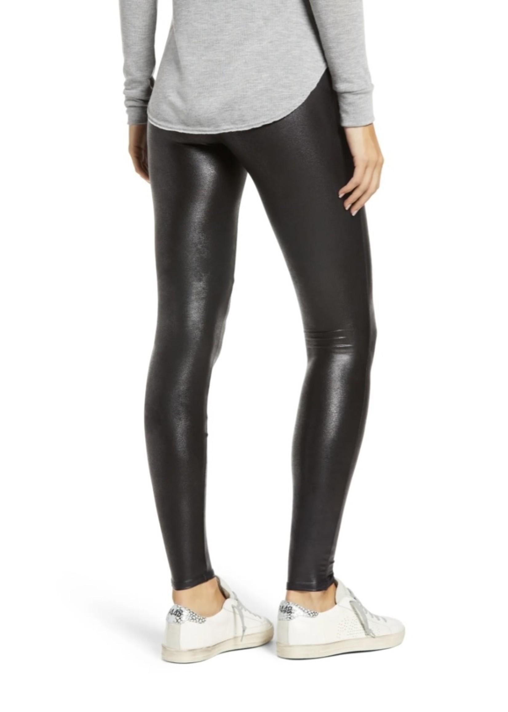 Spanx PETITE Faux Leather Leggings - 2437Q