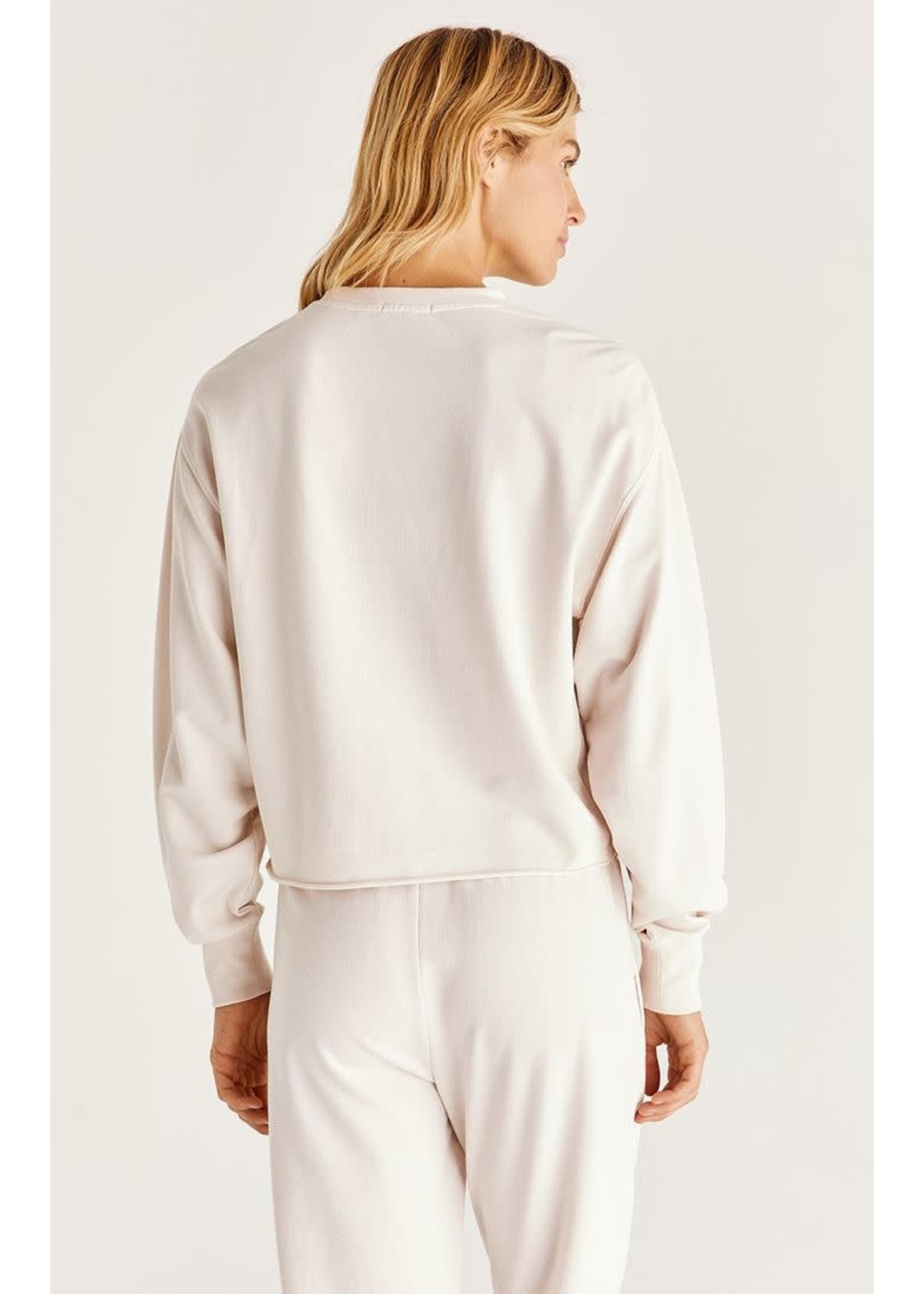 Z Supply Claire Boxy Sweatshirt - ZT213283