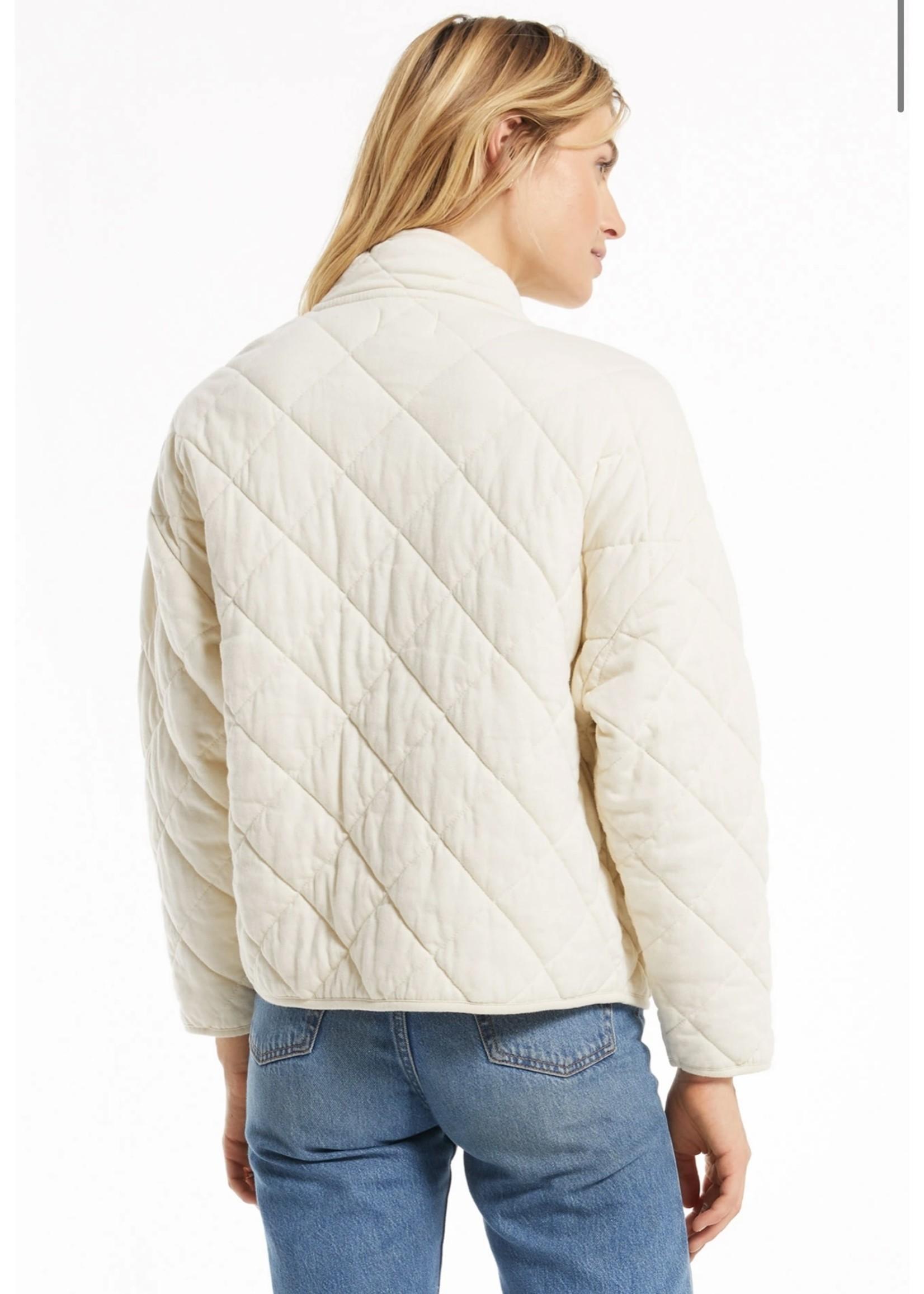 Z Supply Maya Quilted Jacket - ZJ203646
