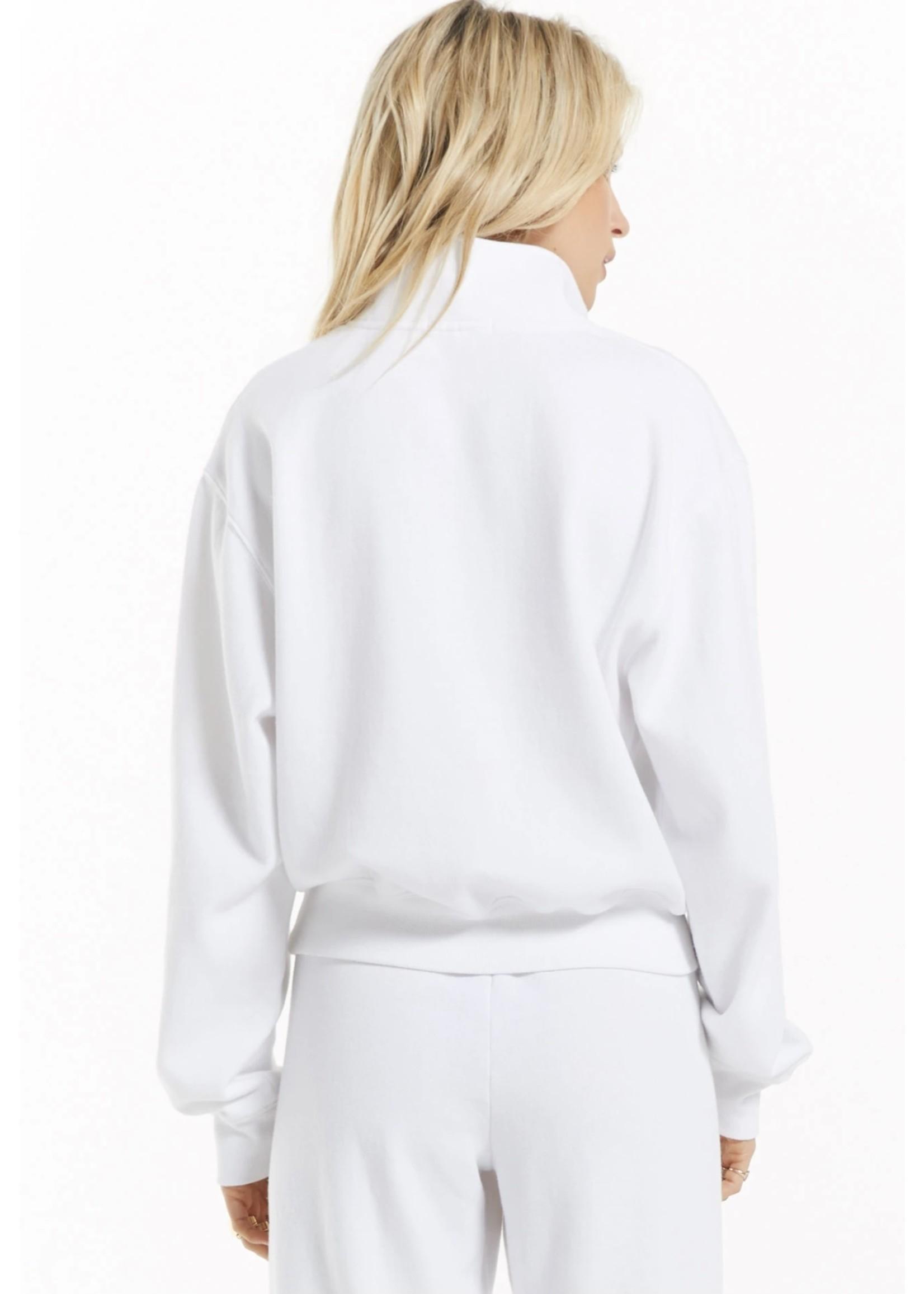 Z Supply Half Zip Sweatshirt - ZT213317