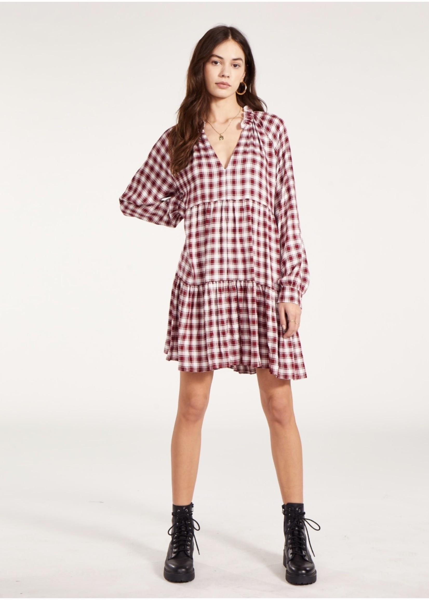 BB Dakota Plaid To Be You Dress - BL308243