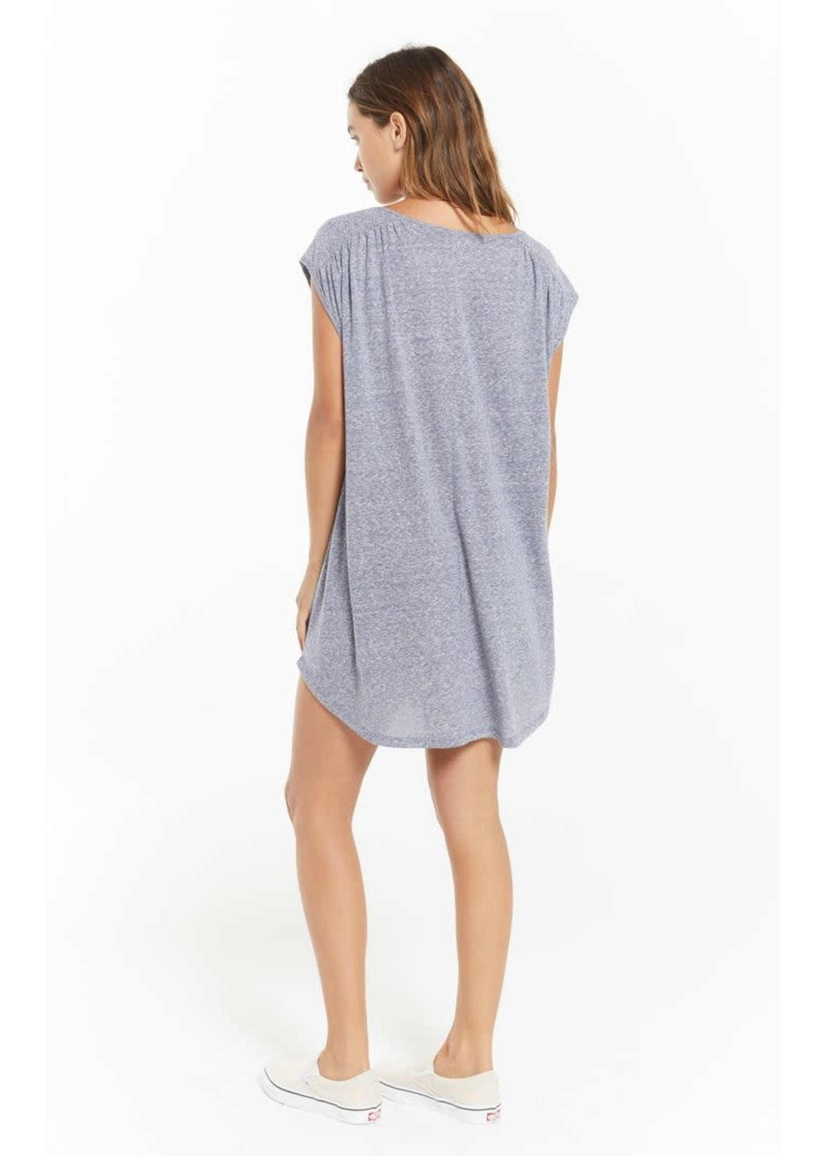 Z Supply Avery Tri Blend Mini Dress - ZD213131