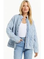 Z Supply Maya Knit Denim Jacket - ZJ213155
