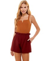 Pretty Follies Knit Bodysuit with Boning - CT7379