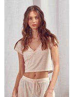 Storia Star Embroidered Cropped T-Shirt - BT1892