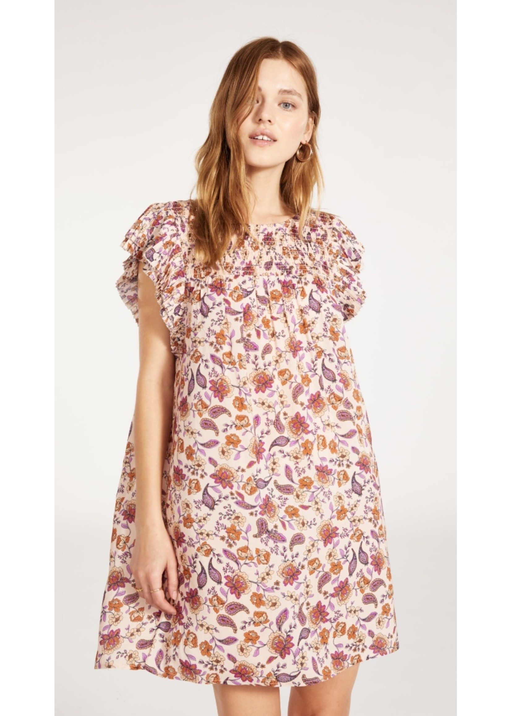 BB Dakota Paisley Attention Dress - BL308255