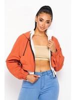 HOT + DELICIOUS Halsey Colorblock Jacket - HGJ5792