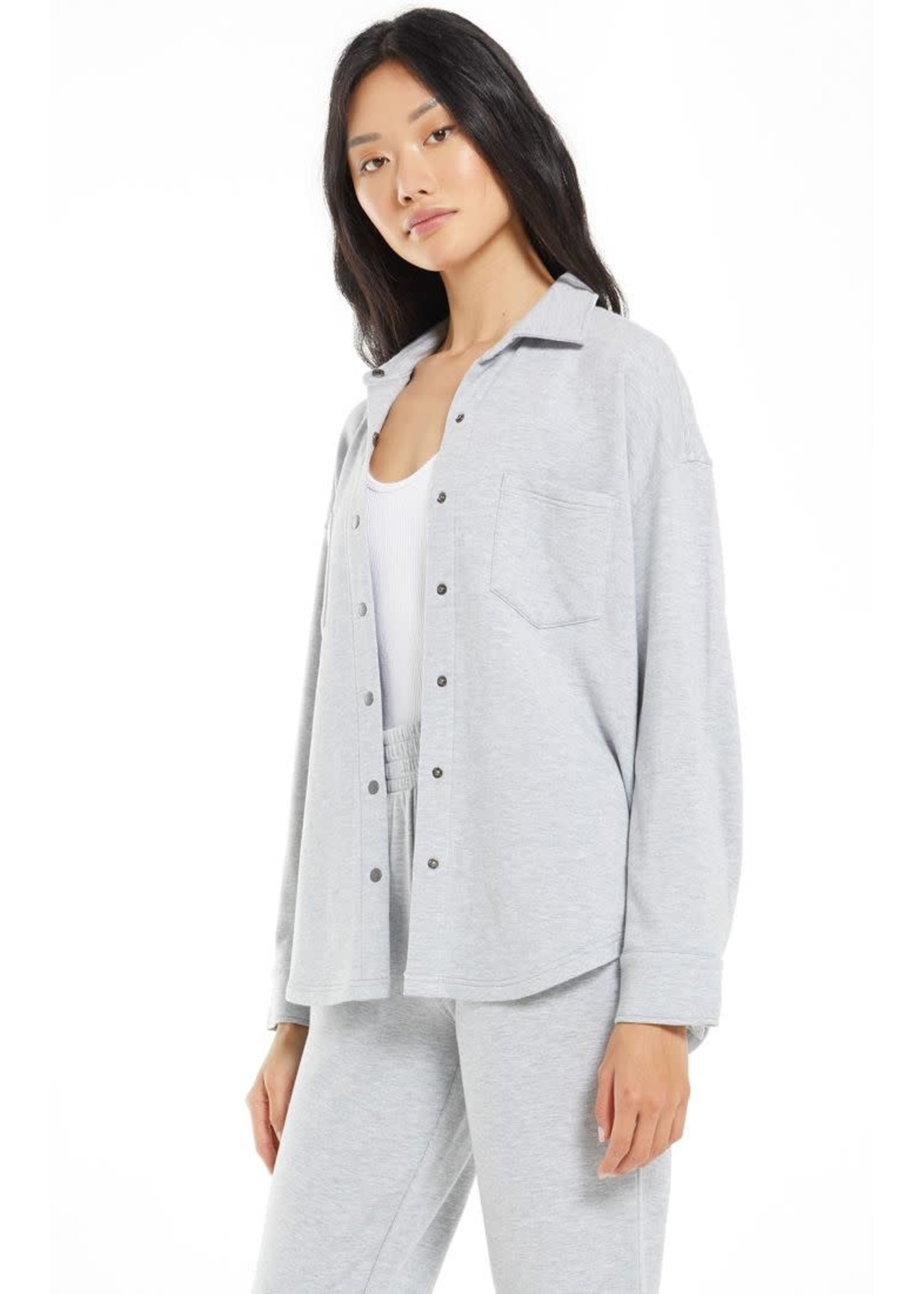 Z Supply WFH Modal Shirt Jacket - ZT213144