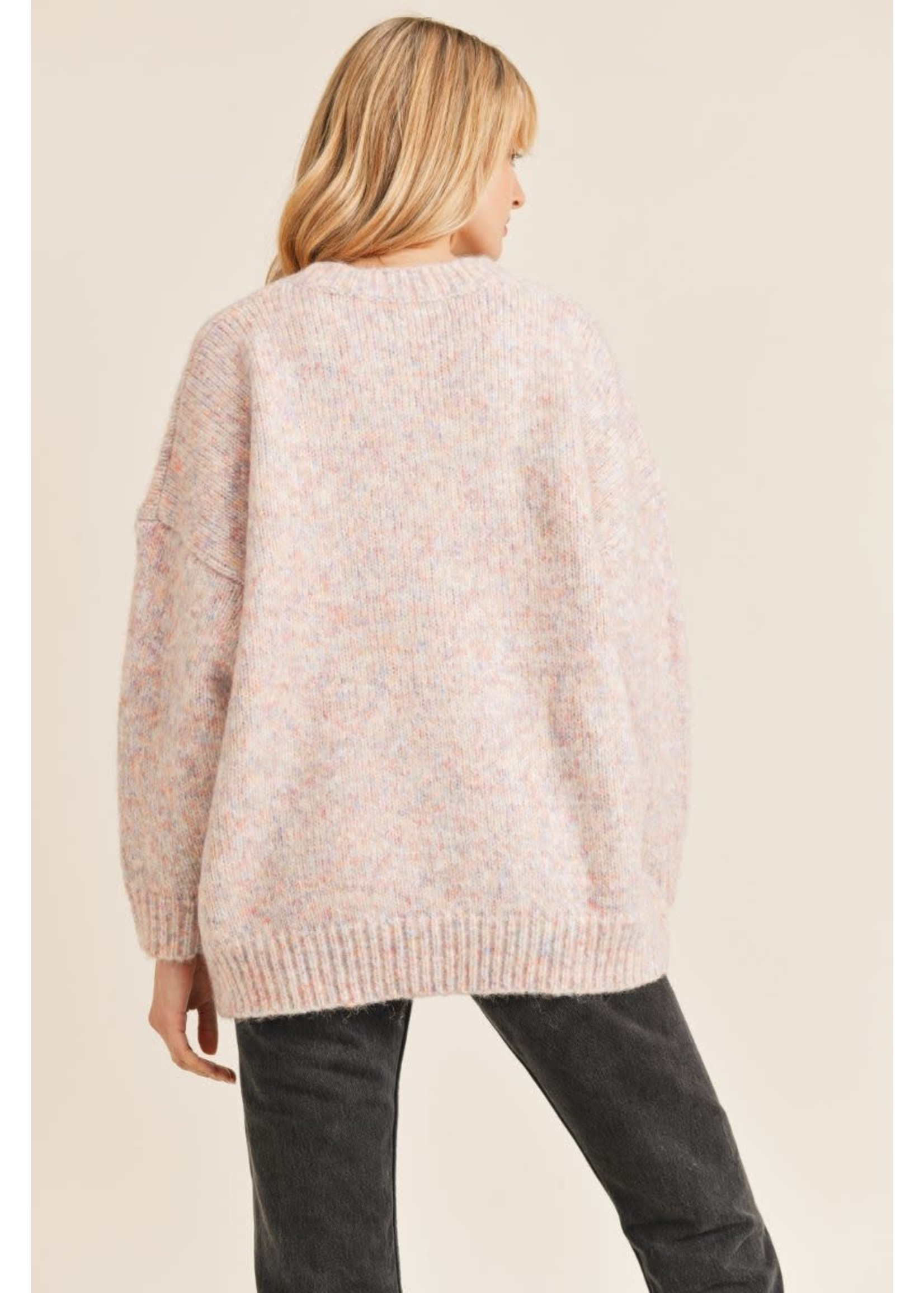 Sadie & Sage Come Chill Pullover Sweater - AC342474