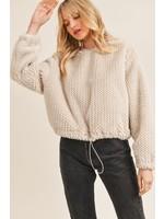 Sadie & Sage Shoulda Been Furry Pullover Jacket - AC342473