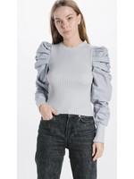 En Saison Nicole Puffed Sleeve Top - IES1630T-1