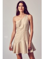 DO + BE One Shouldered  Flare Dress - GY1268