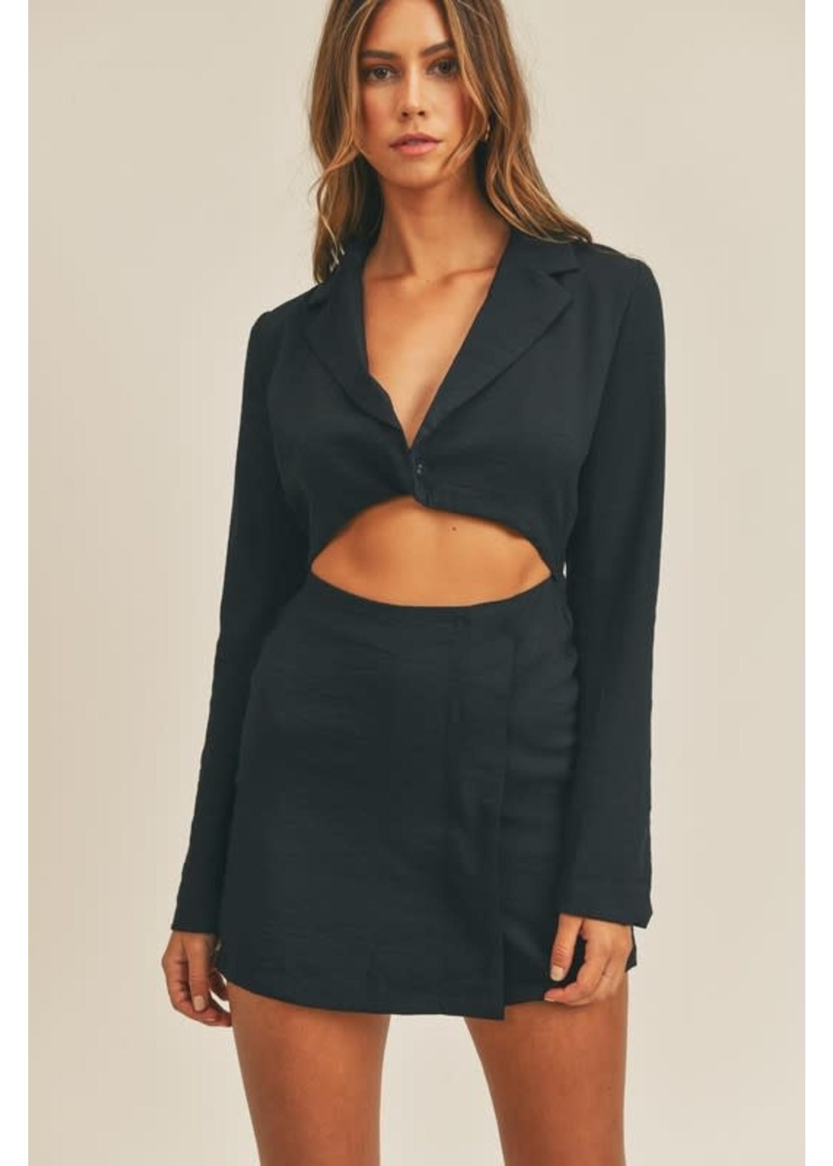 Mable Cutout Blazer Mini Dress - MD2555