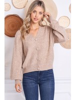 Charlotte Avery Bell Sleeved Cardigan - 207-A