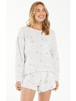 Z Supply Frosted Plush Star Pullover - ZLT214394