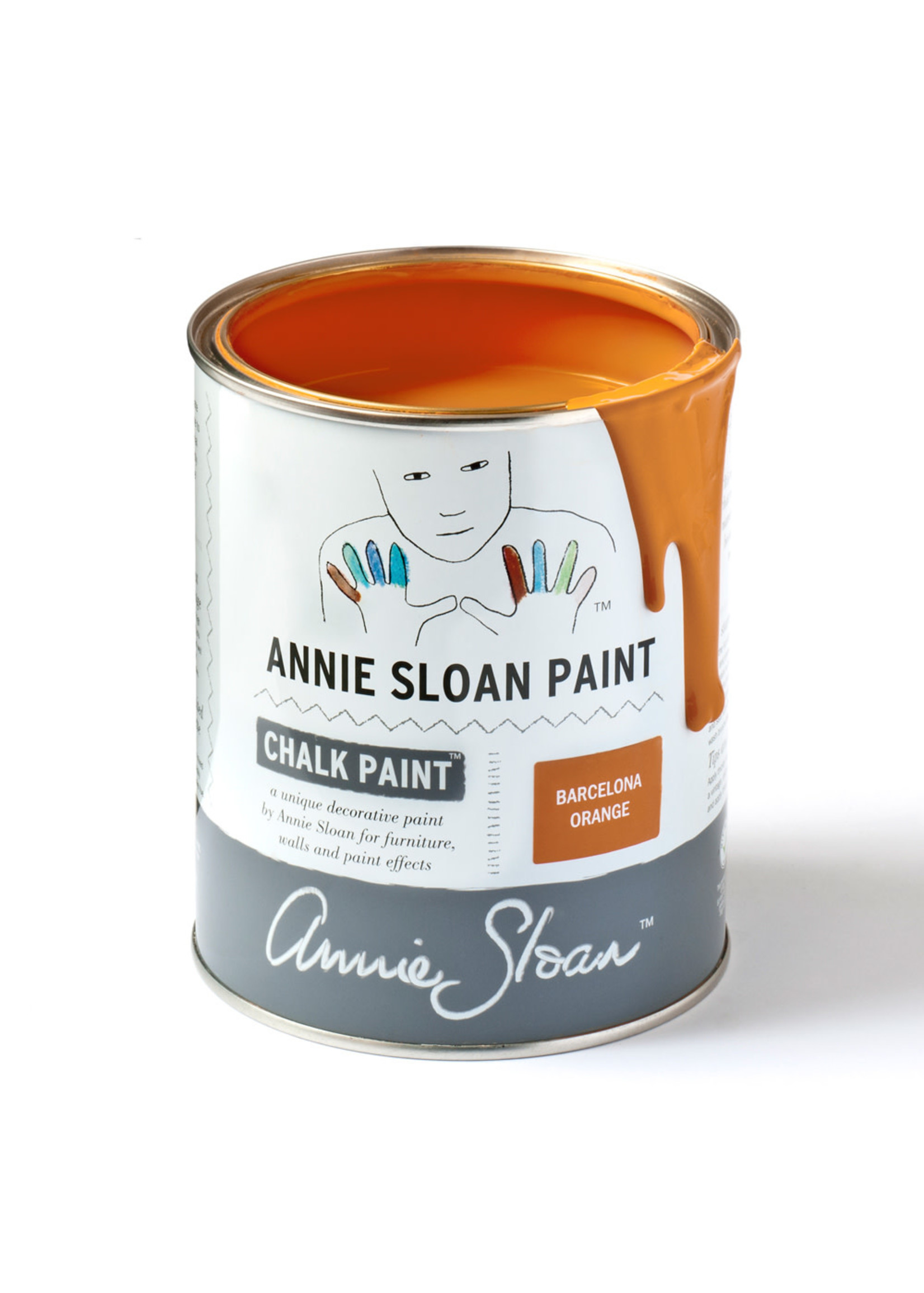 Annie Sloan Chalk Paint® Barcelona Orange Annie Sloan Chalk Paint ®