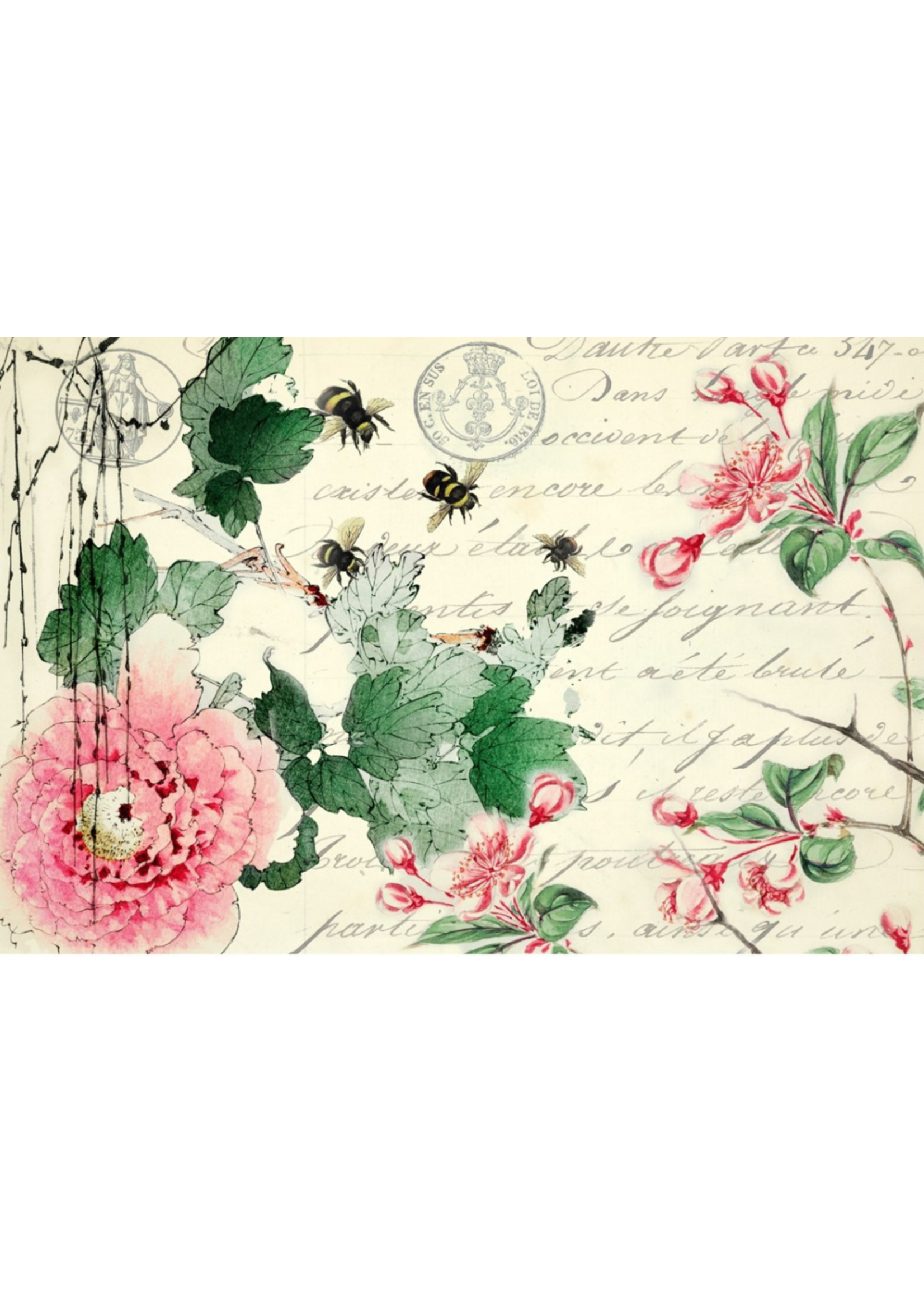 Roycycled Treasures Cherry Blossom Decoupage Paper