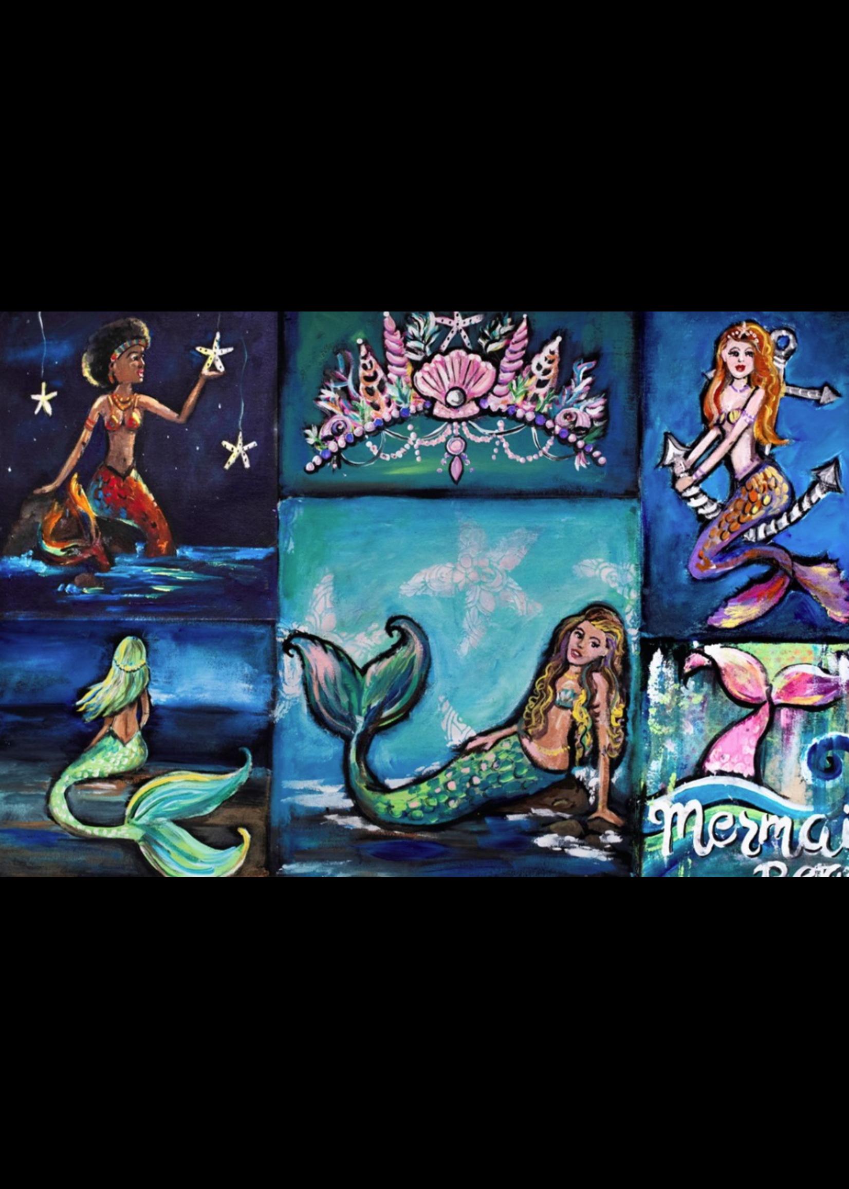 Roycycled Treasures Mermaid Beach Decoupage Paper