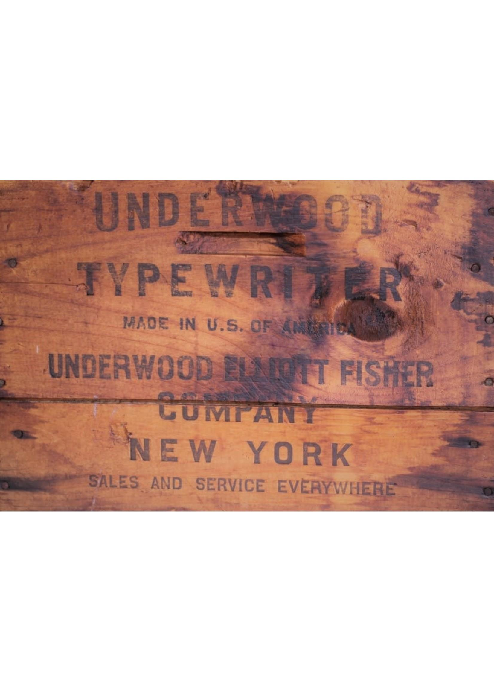 Roycycled Treasures Underwood Crate Decoupage Paper