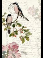 Roycycled Treasures Spring Bird Decoupage Paper