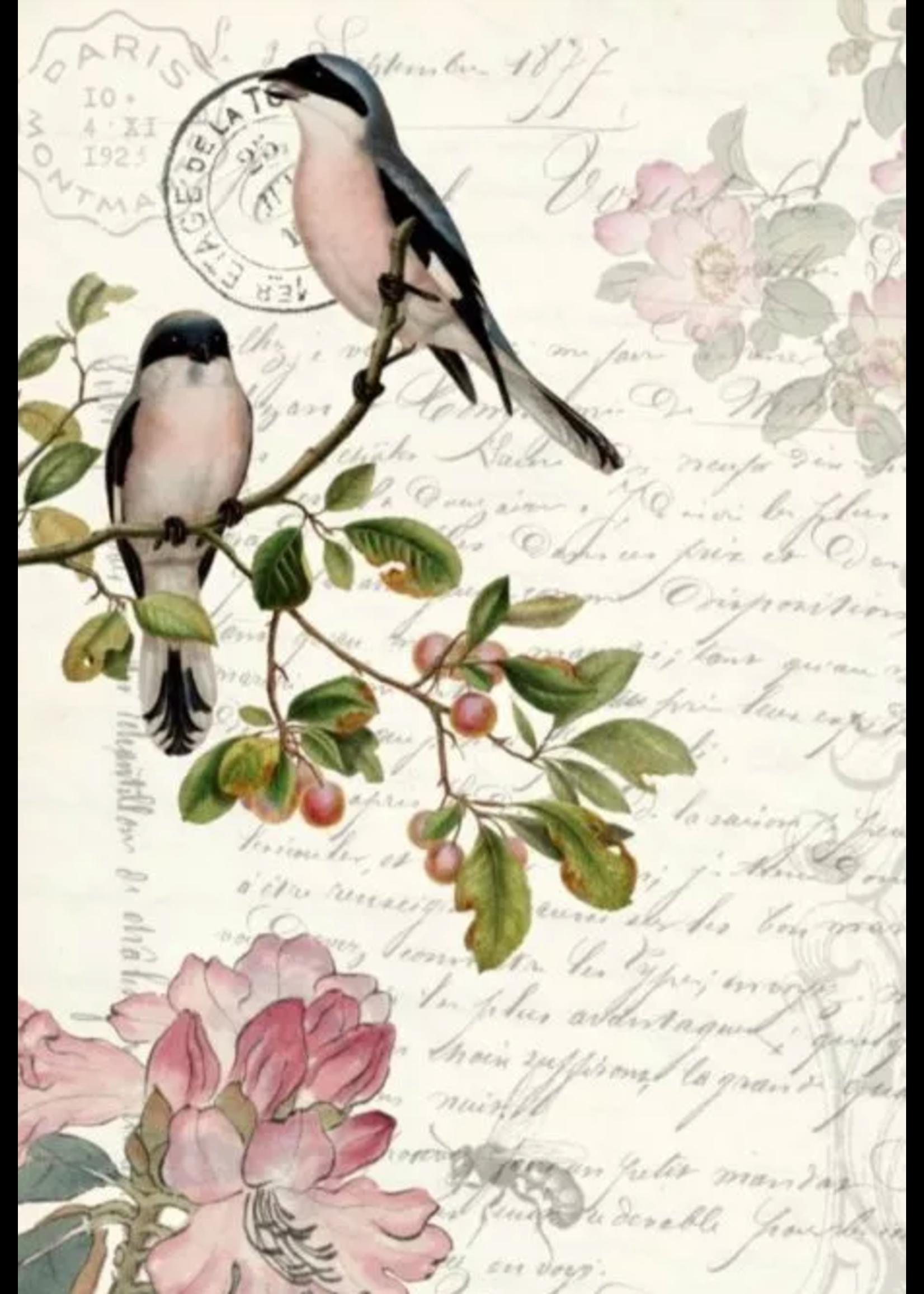 Roycycled Treasures Spring Bird Roycycled Treasures Decoupage Paper