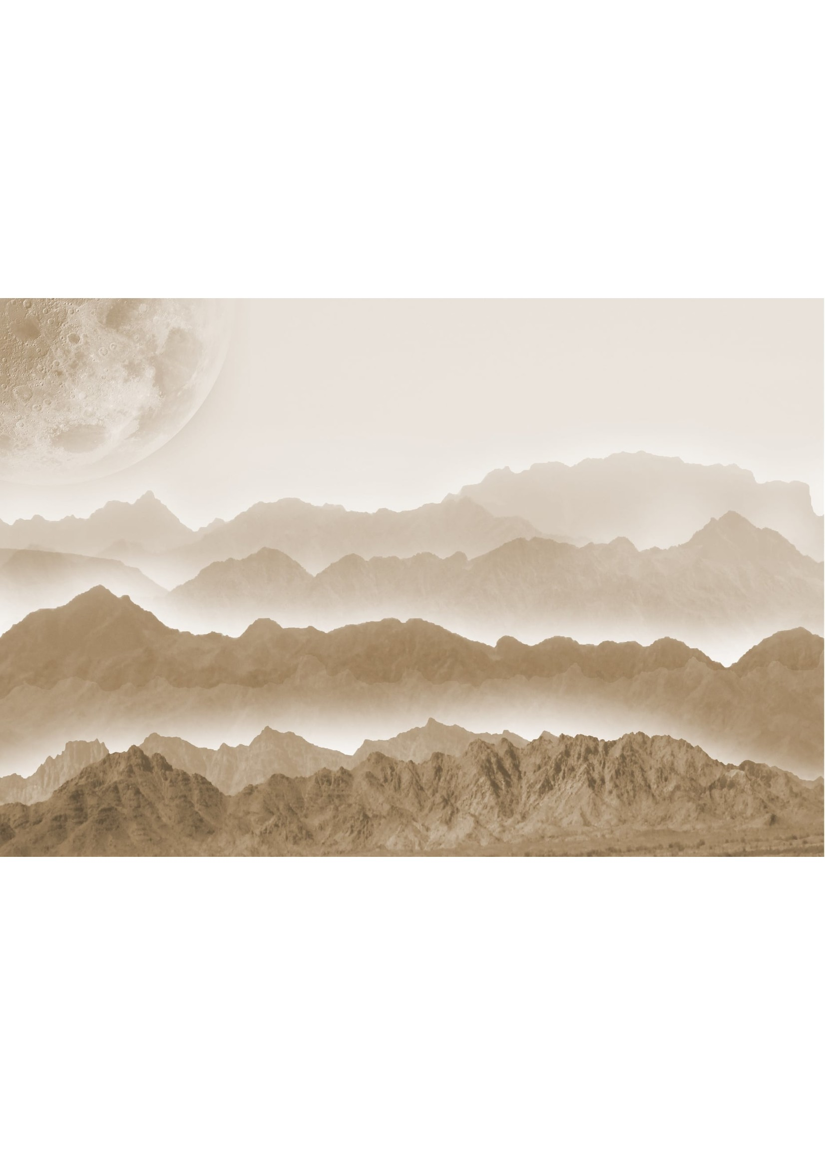 Roycycled Treasures Misty Mountains Decoupage Paper