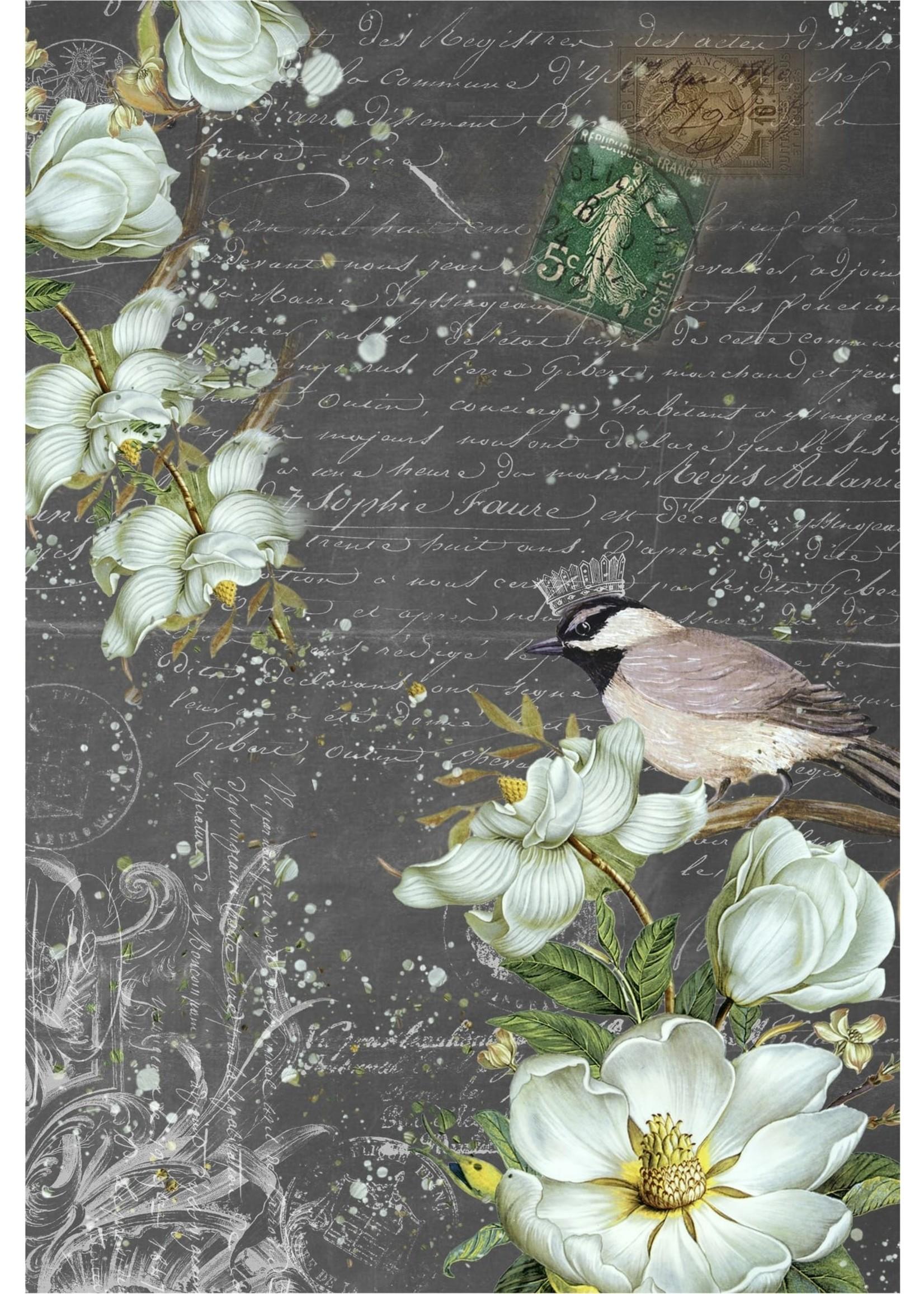 Roycycled Treasures Summer Bird Decoupage Paper