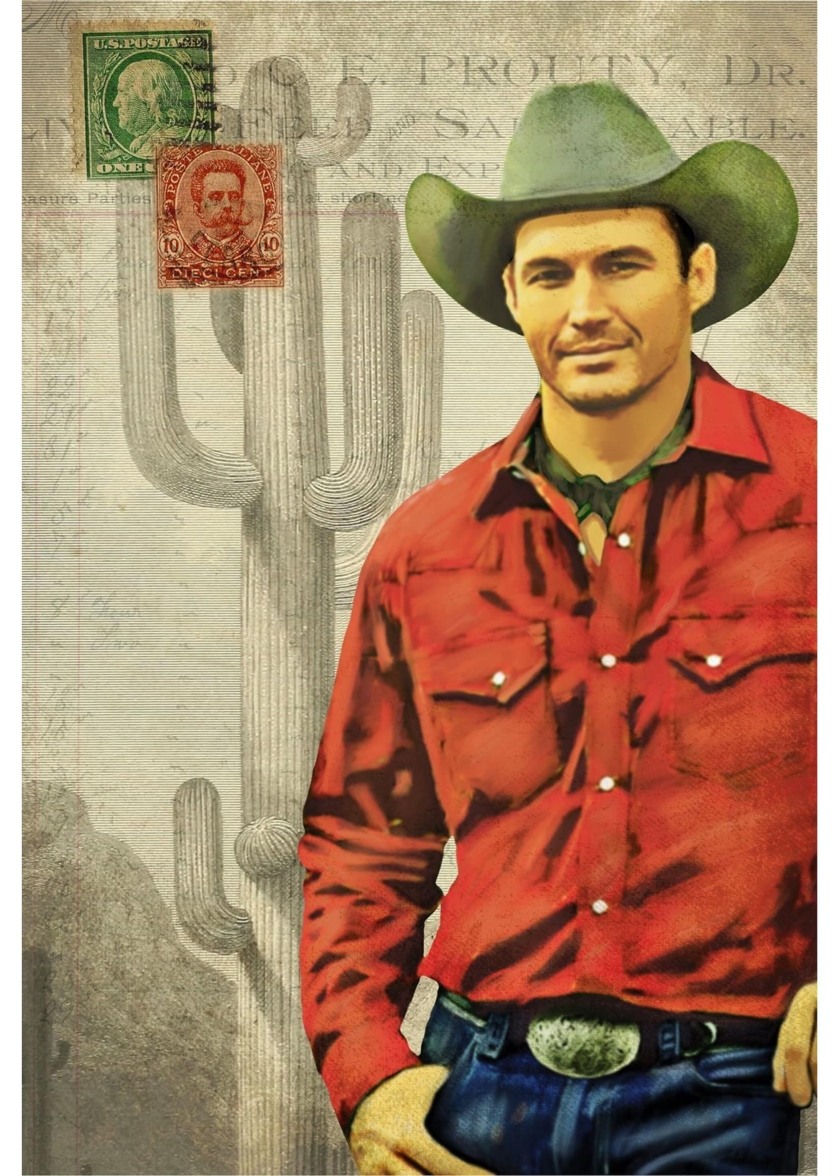 Roycycled Treasures Cowboy Decoupage Paper