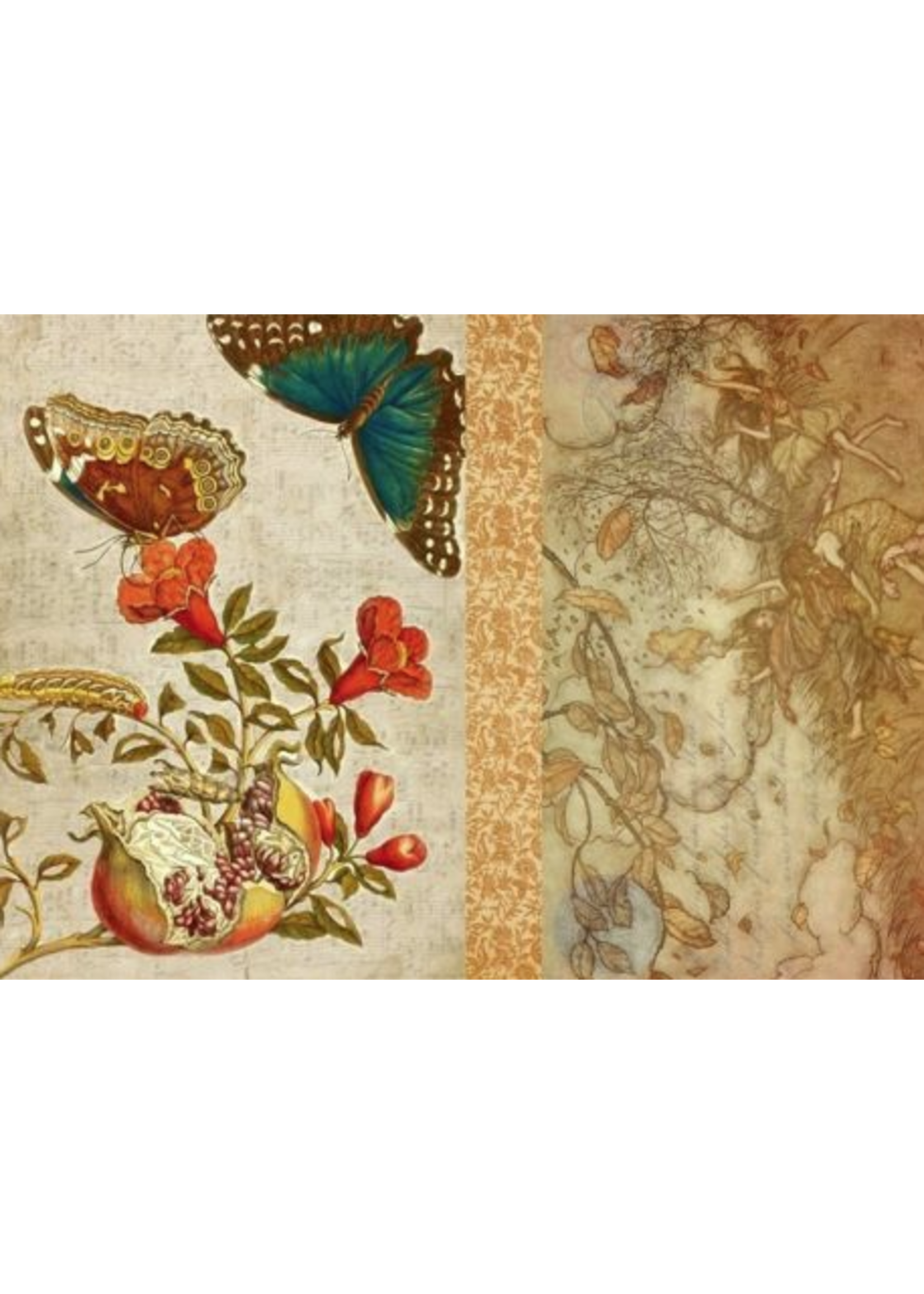 Roycycled Treasures Fall Project Roycycled Treasures Decoupage Paper