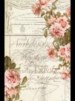 Roycycled Treasures Floral Ephemera Decoupage Paper