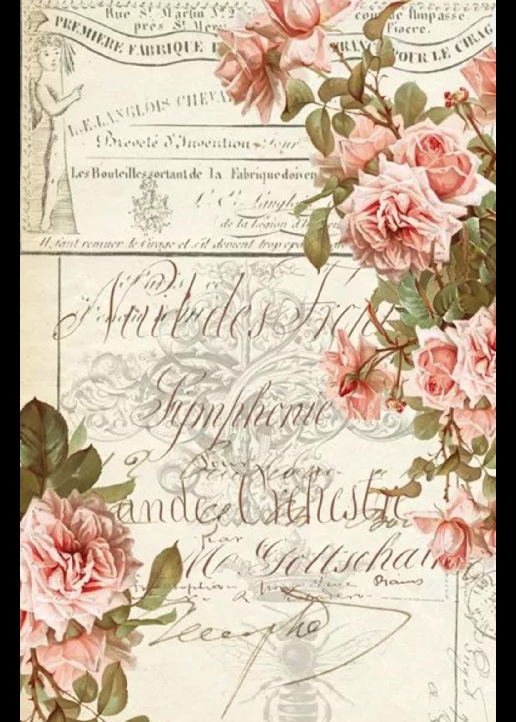 Roycycled Treasures Floral Ephemera Roycyled Treasures Decoupage Paper