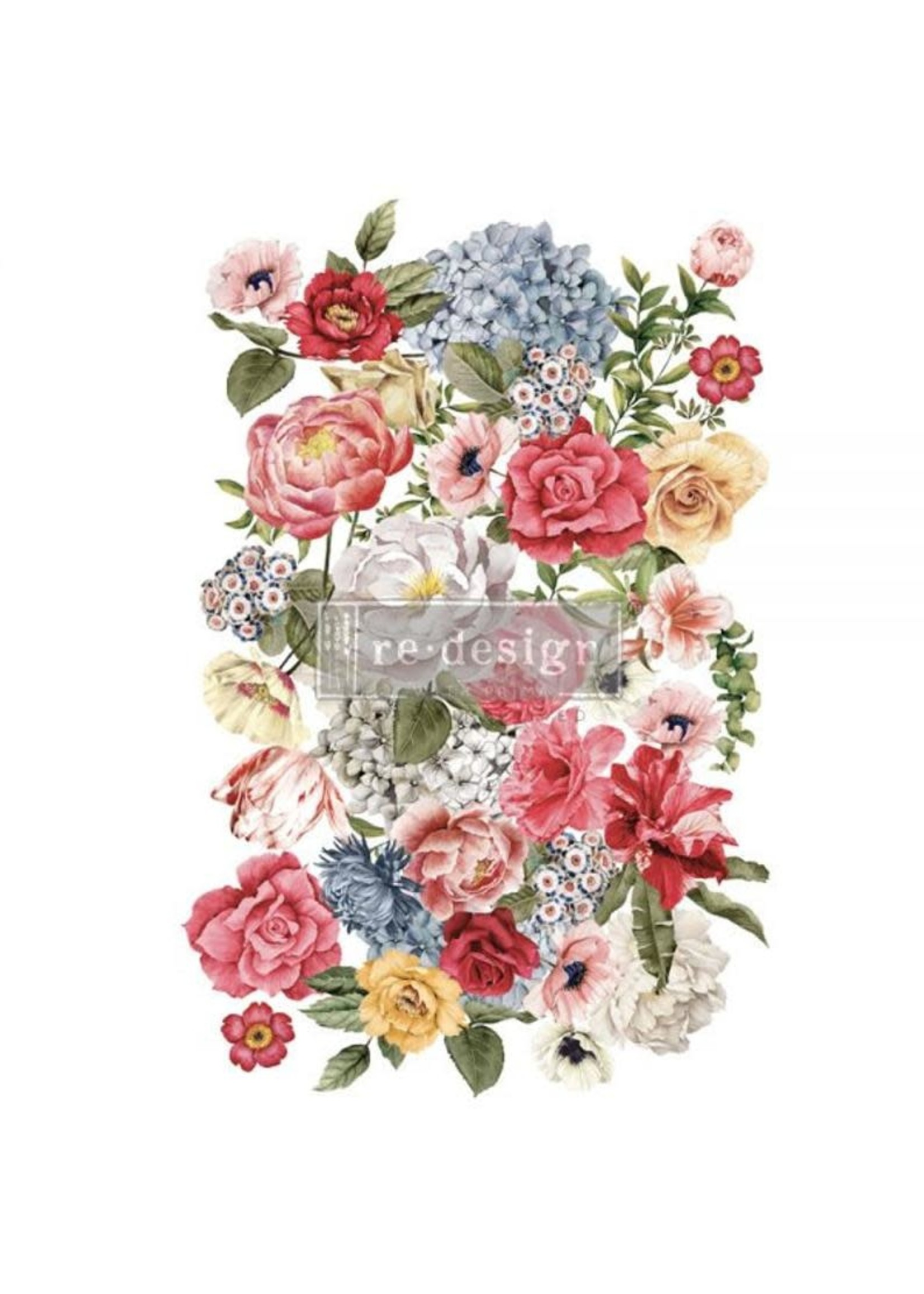 Re-Design with Prima® Wondrous Floral II Re·Design with Prima® Transfers