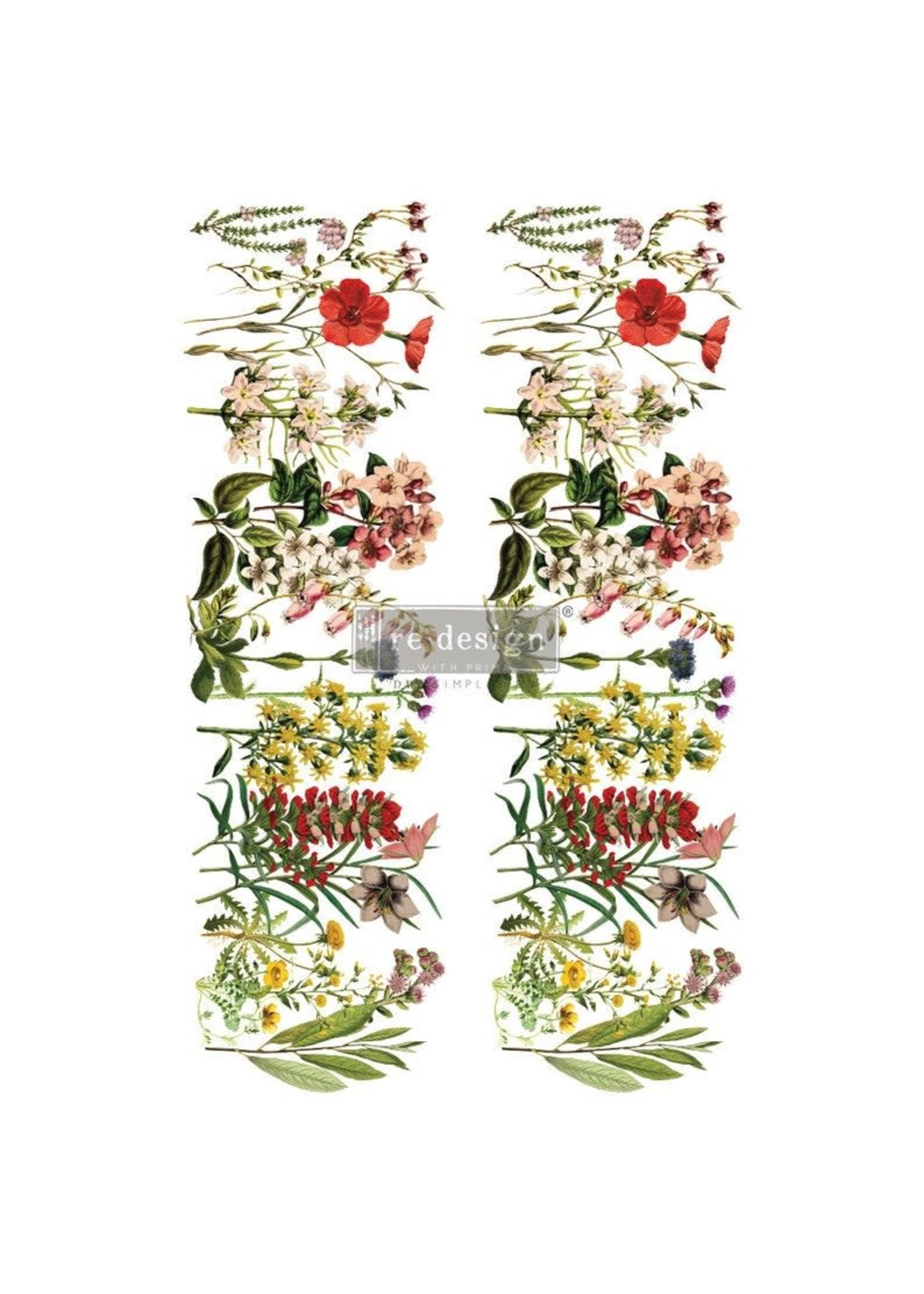 Re-Design with Prima® The Flower Fields Re·Design with Prima® Transfers