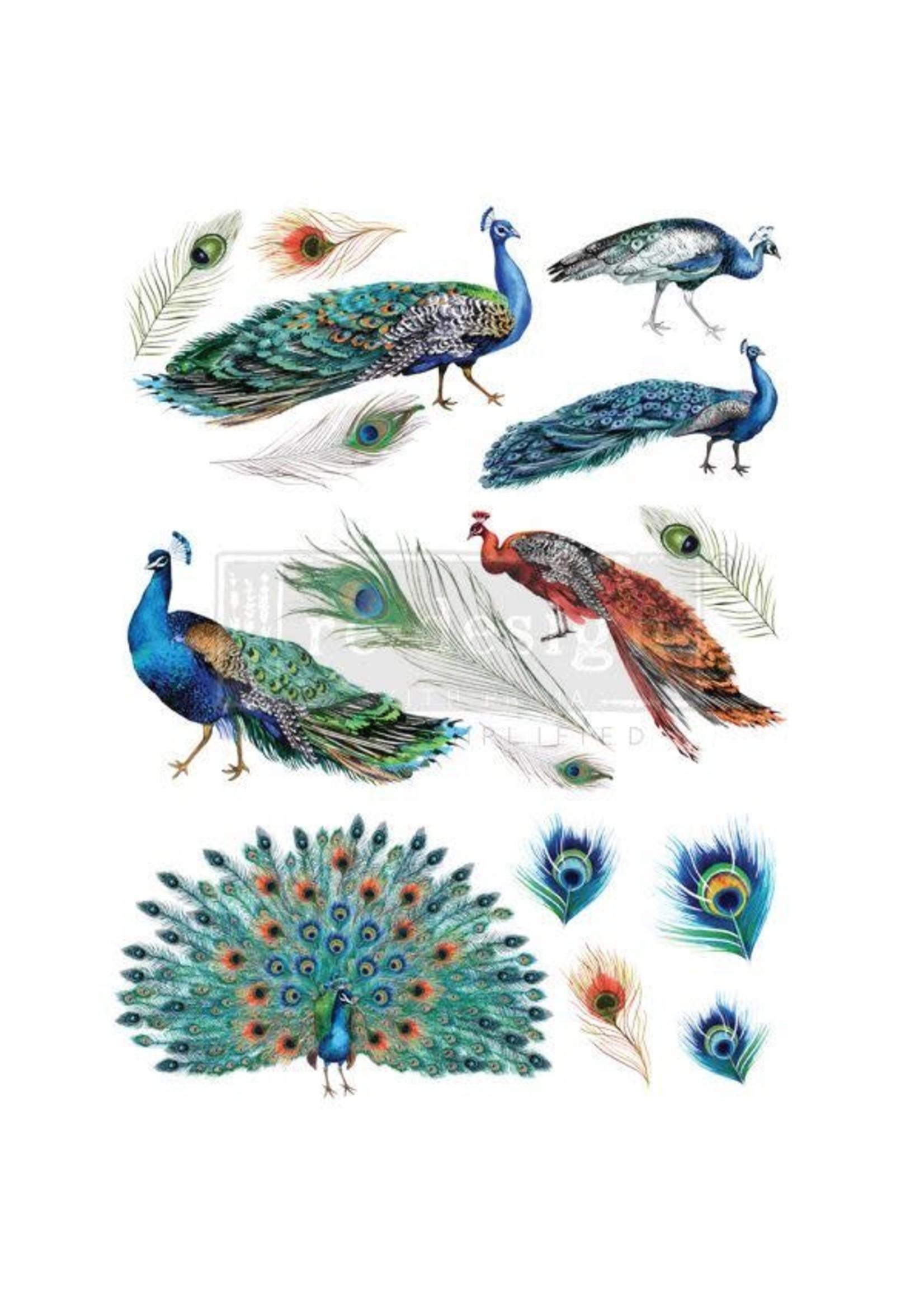 Re-Design with Prima® Peacock Dreams Re·Design with Prima® Transfers
