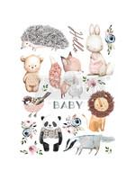 Re-Design with Prima® Hello Baby Transfers