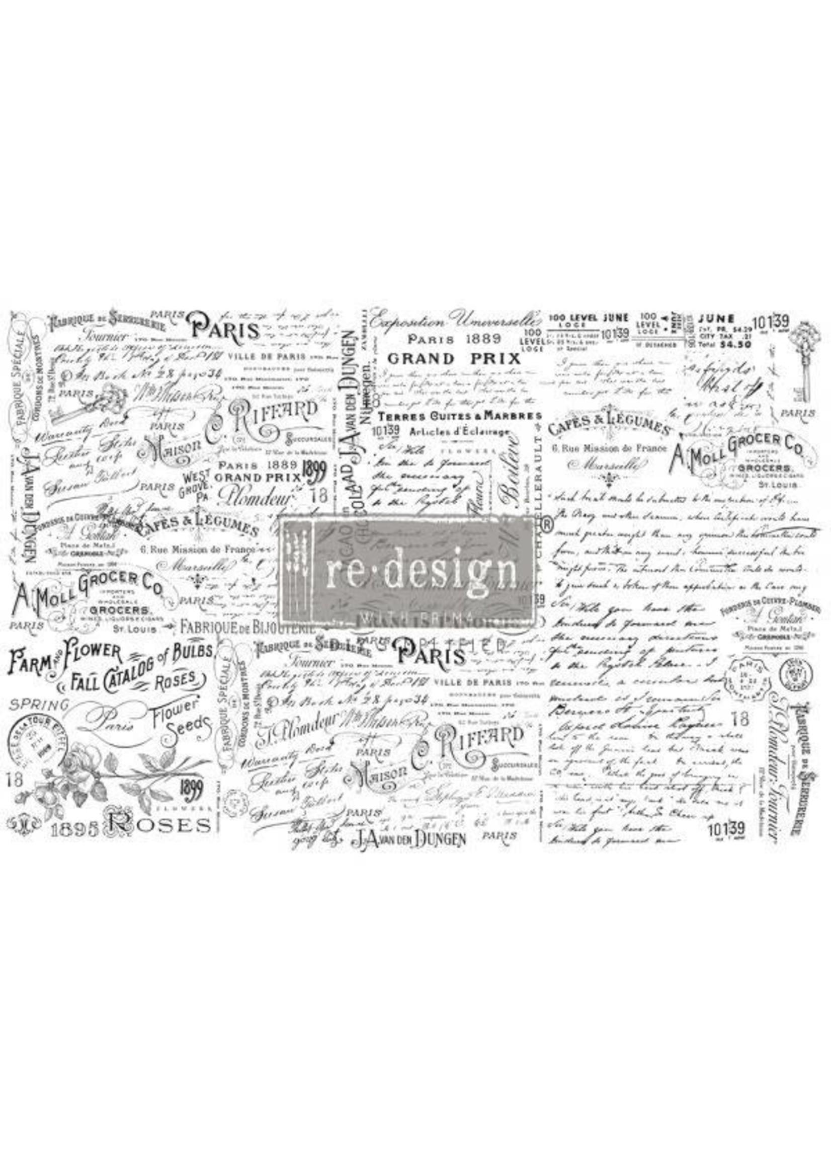 Re-Design with Prima® Zoey Re·Design with Prima® Decoupage Tissue Paper