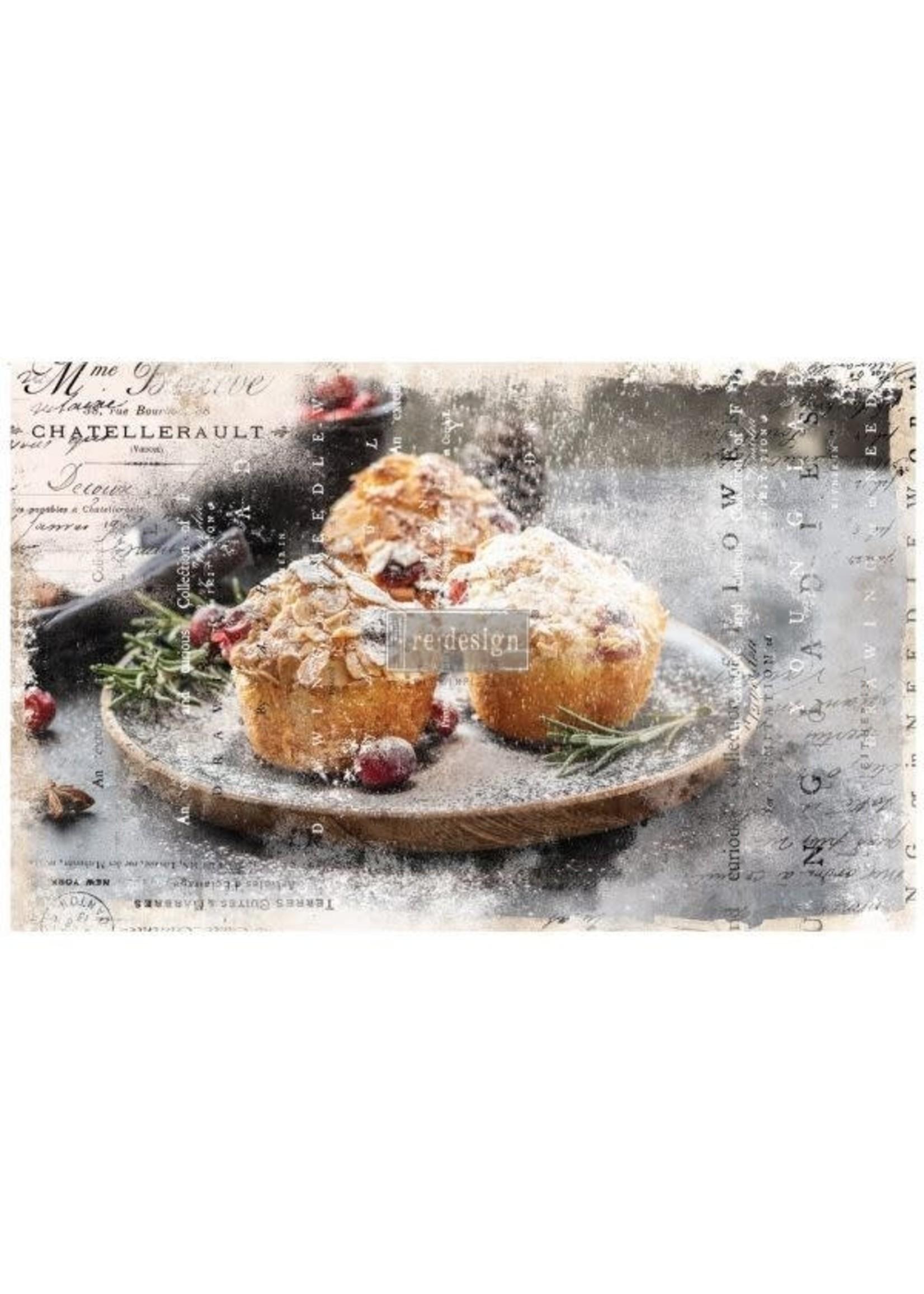 Re-Design with Prima® Warm Desserts Re·Design with Prima® Decoupage Tissue Paper