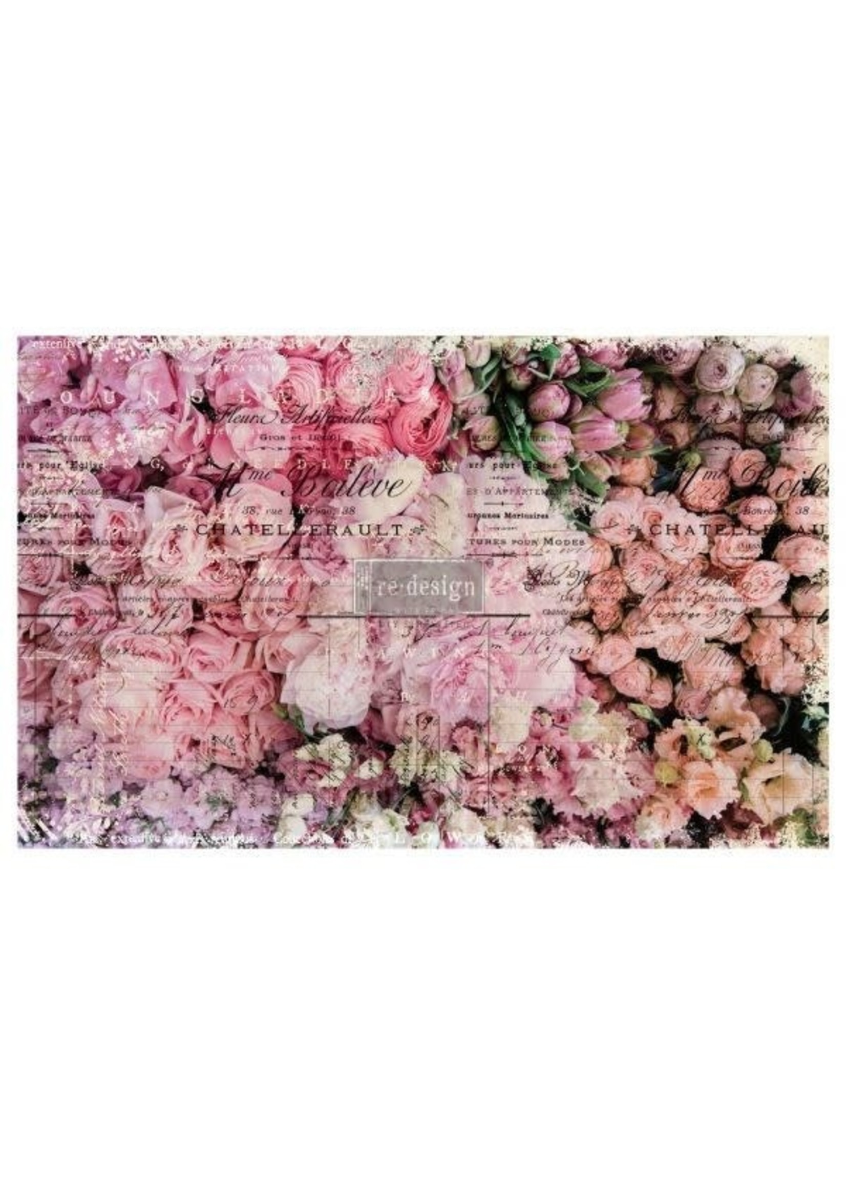 Re-Design with Prima® Flower Market Re·Design with Prima® Decoupage Tissue Paper