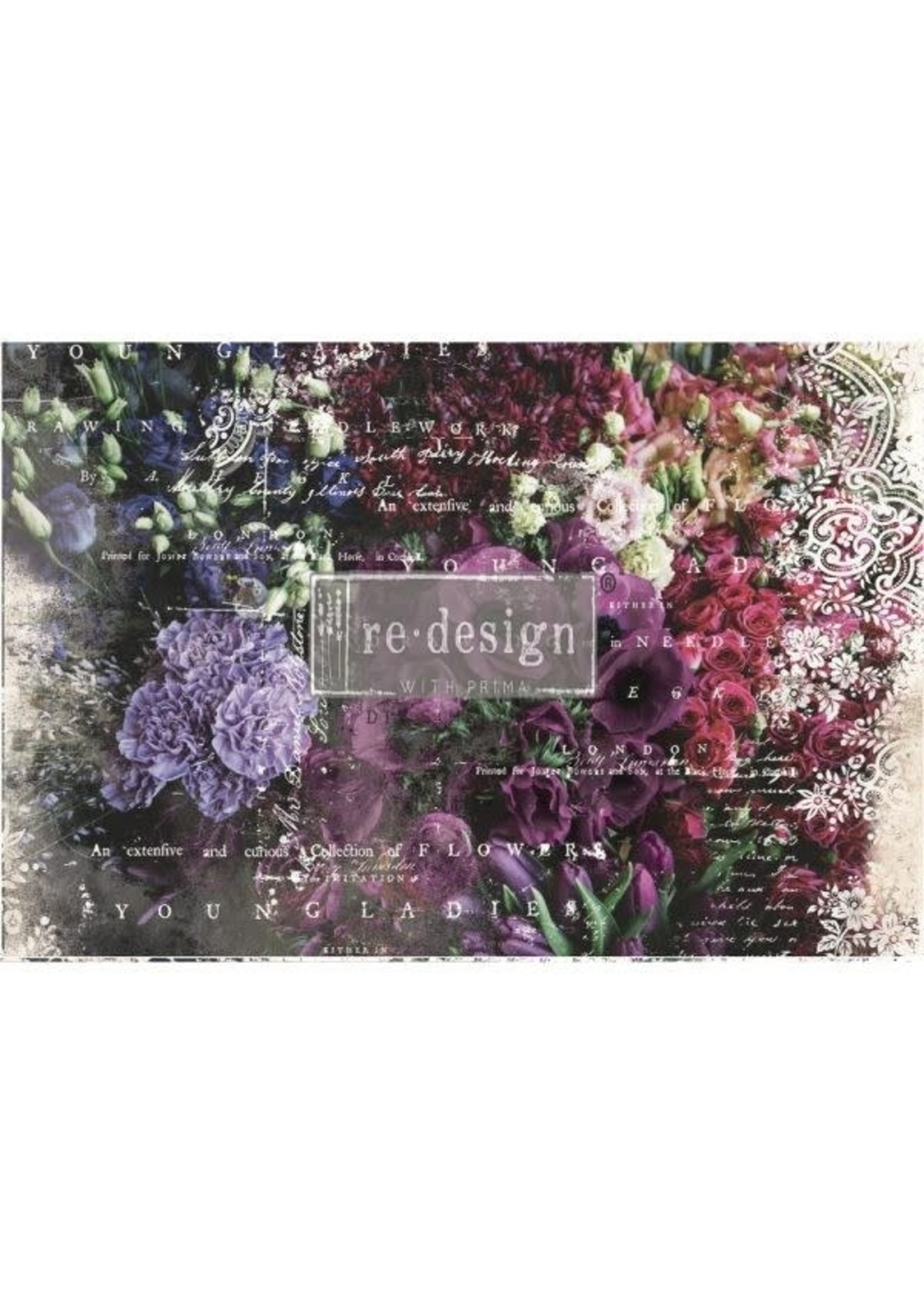 Re-Design with Prima® Giselle Re·Design with Prima® Decoupage Tissue Paper