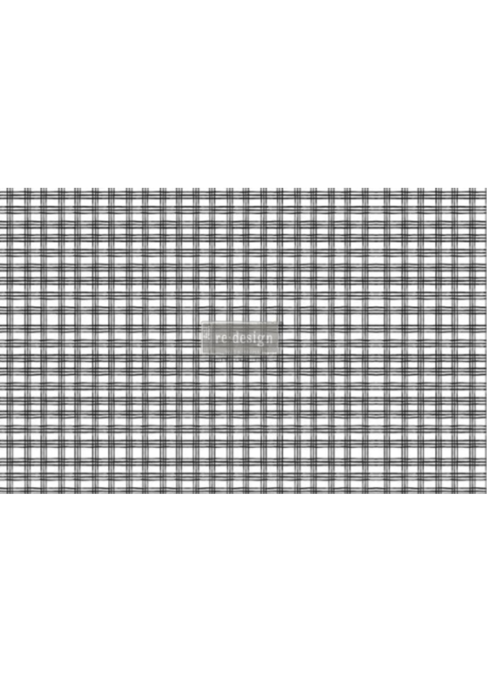 Re-Design with Prima® Grid Decoupage Re·Design with Prima® Tissue Paper