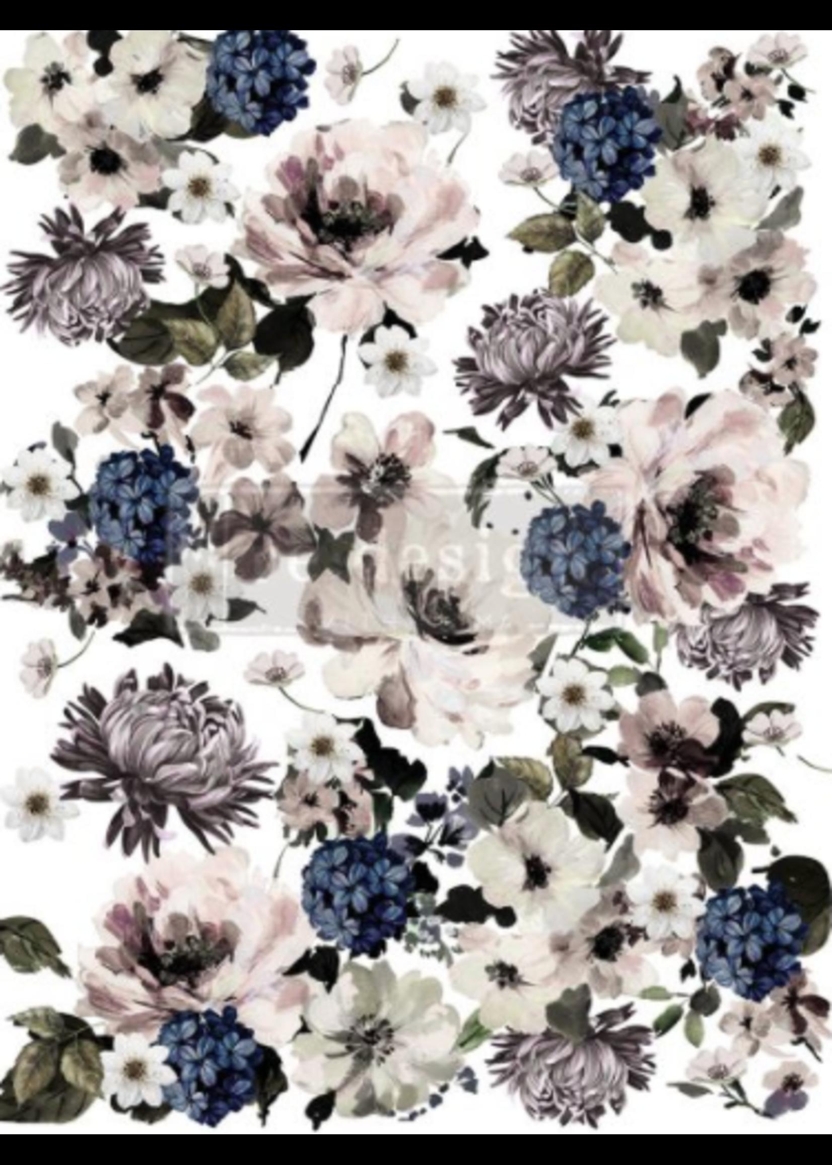 Re-Design with Prima® Dark Floral Re·Design with Prima® Decoupage Tissue Paper