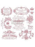 Re-Design with Prima® I See Paris Clear Cling Stamps